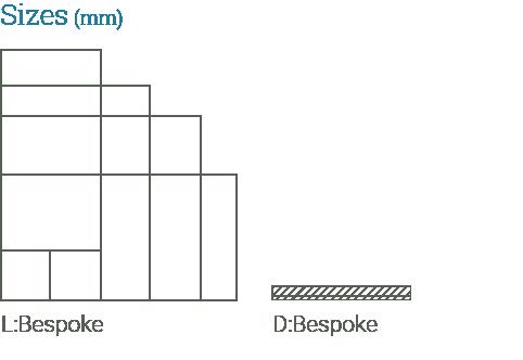 Oppdal Quartzite Paving sizes available