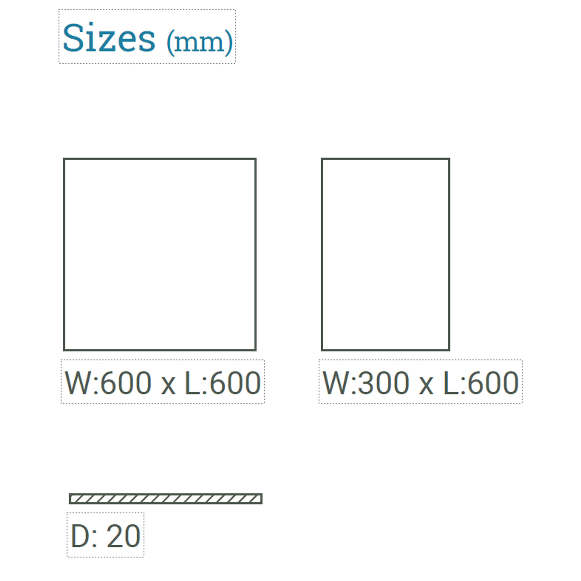 Kilkenny Limestone Paving sizes available