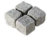 Cropped Setts - Silver Grey Granite