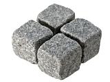 Cropped Setts - Medium Grey Granite