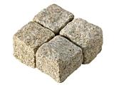Cropped Setts - Yellow Granite