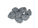 Silver Grey Granite Cobbles & Pebbles