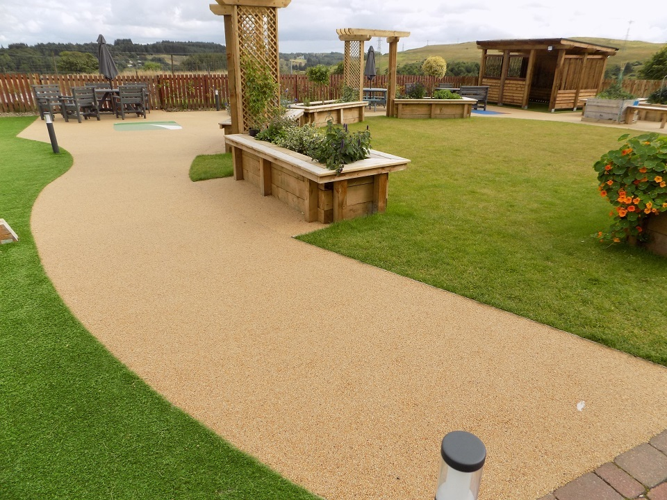 Springtime Resin Bound Paving - Root One North