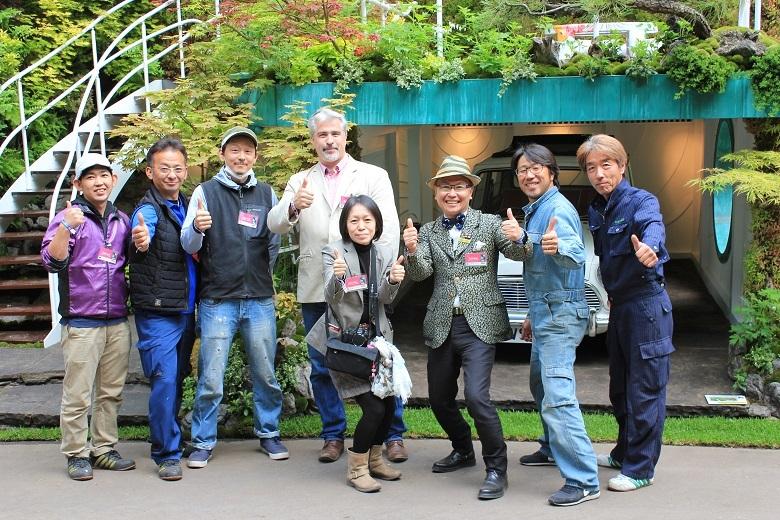 Senri-Sentei, Giles Heap with the Ishihara Kazuyuki Design Laboratory team