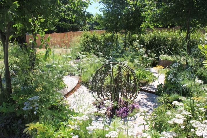 RHS Hampton Court Flower Show 2018 - Sponsored Gardens | CED