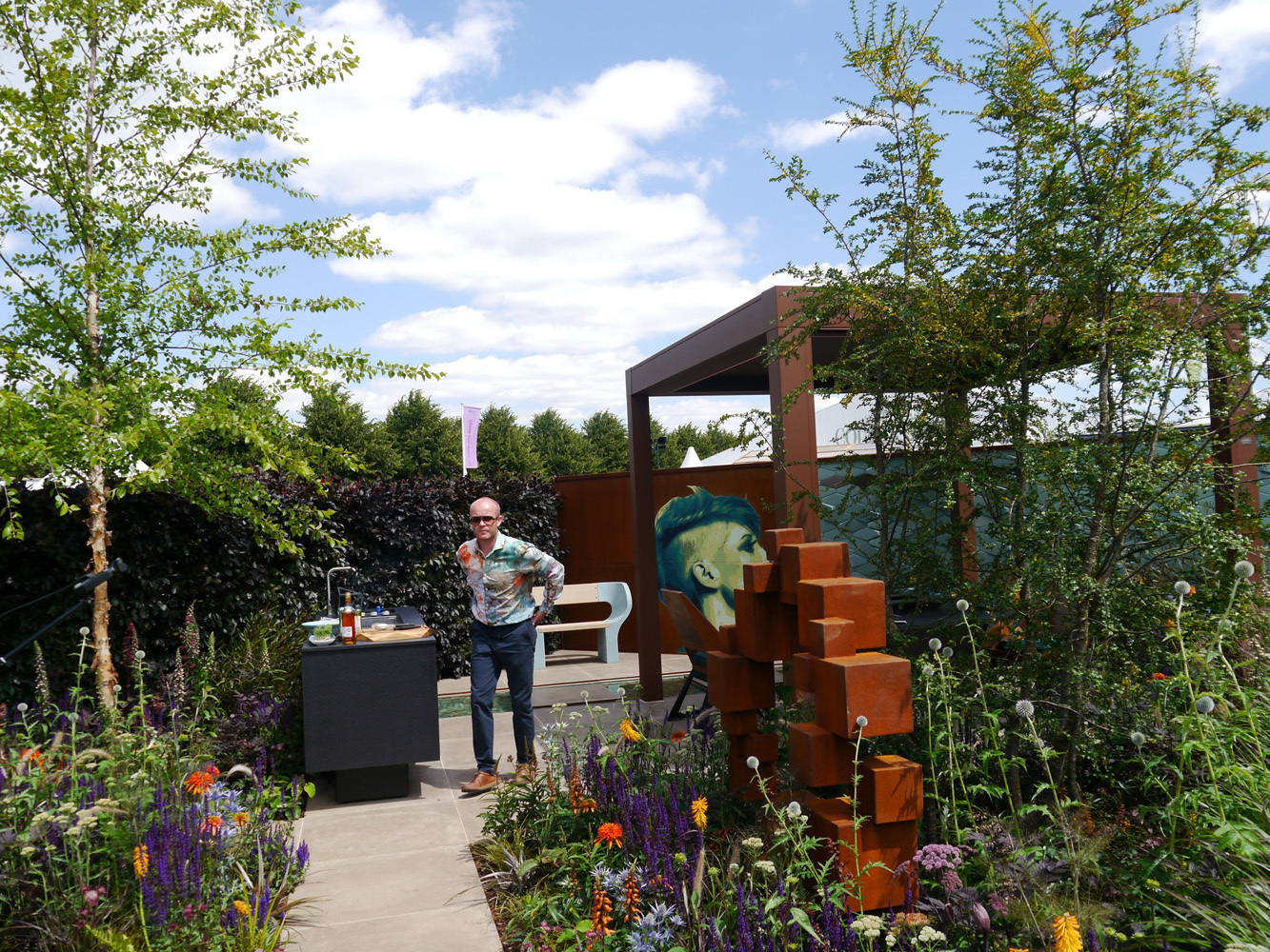 Lower Barn Farm S In House Design Robert Grimstead Designs Show Garden Rhs Hampton Ced Ltd For All Your Natural Stone