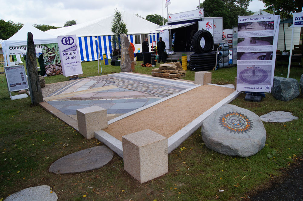 CEDEC® Footpath Gravel goes down well at Bali Landscape Show 2011