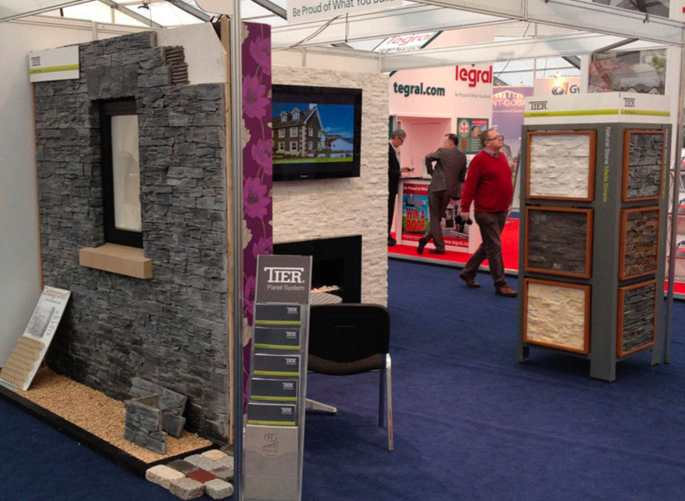CED Launch the Tier® Contemporary Range at The Self Build Show