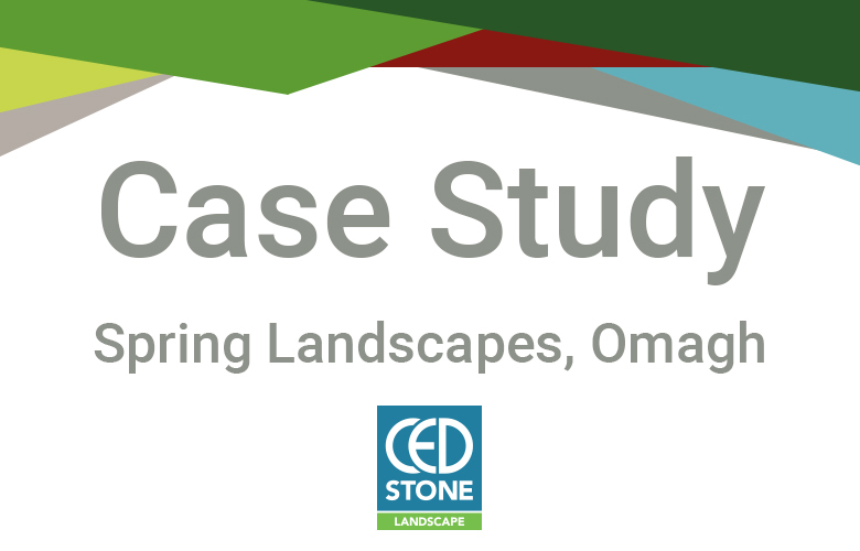 CED Stone Landscape - Omagh Depot, Spring Landscapes Case Study