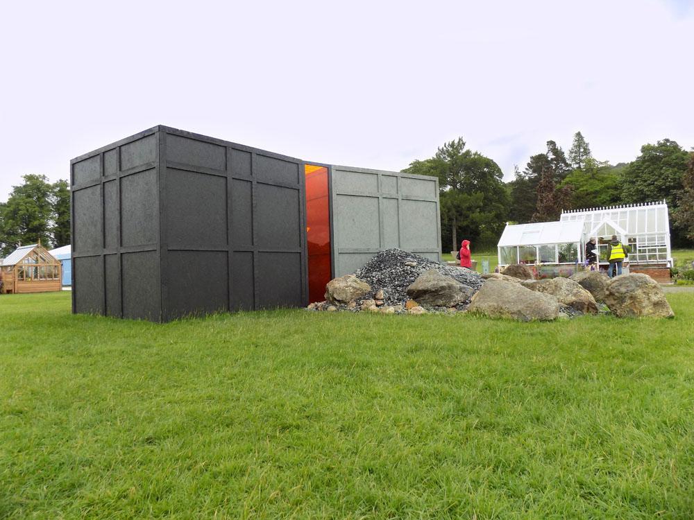 CED Boulders Star in Mould-Breaking Garden at RHS Chatsworth: Sheena Seeks' 'The Wordless Cupboard'