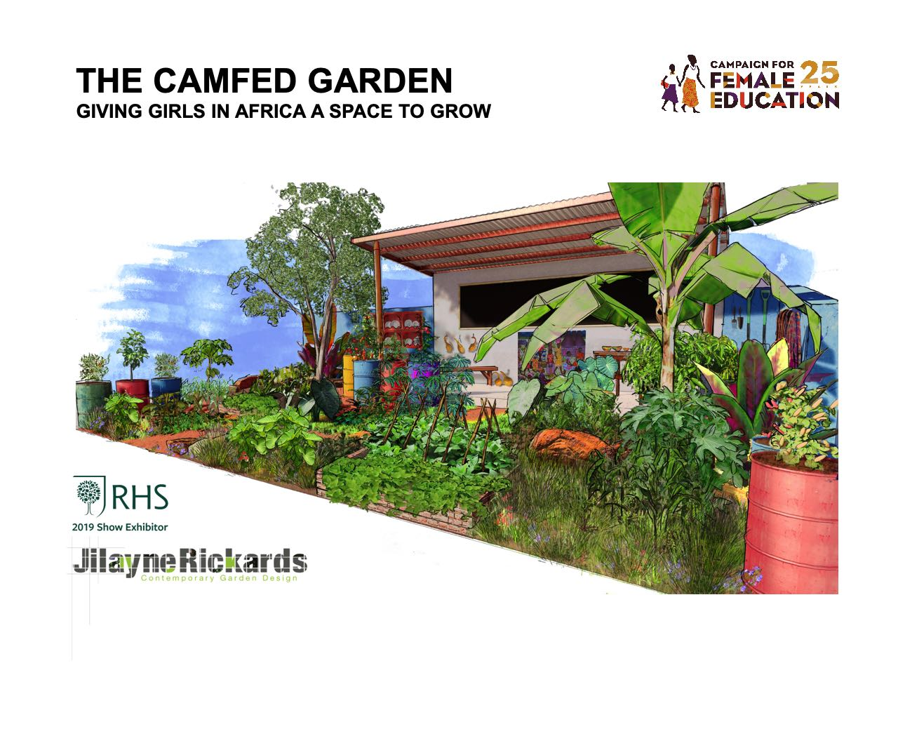 Team CAMFED Bring A Little Bit Of Africa To RHS Chelsea