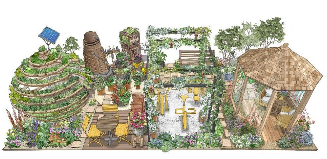 CED Supports The HTA 'The Great Escape' Garden At RHS Chelsea Flower Show 2018