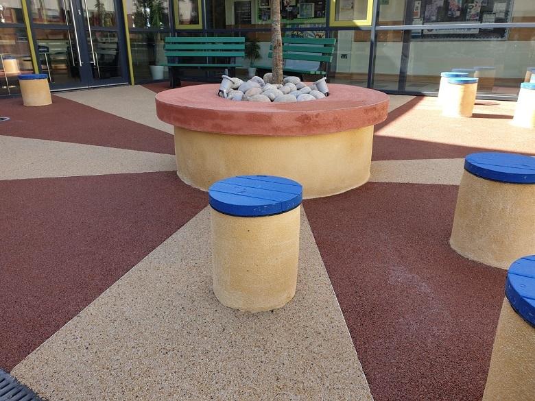 Drumragh Integrated College Students Enjoy New Social Garden