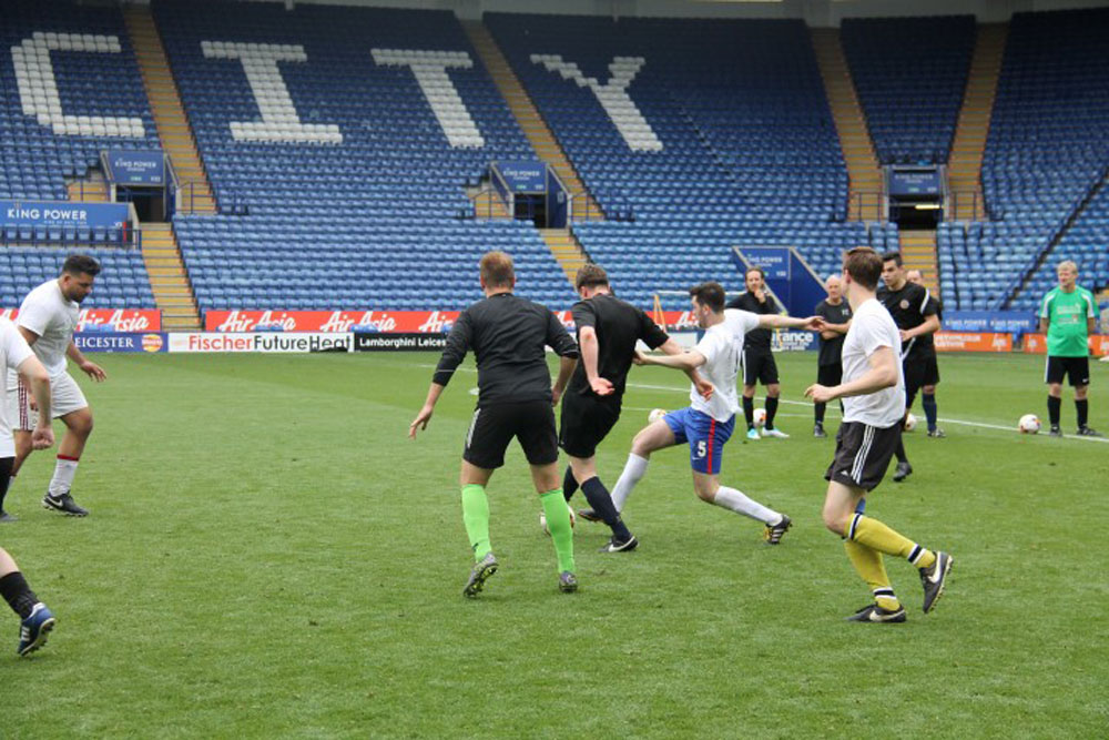 Go Team Hortistone! Perennial's #PlayThePitch Raises £8,000 at LCFC