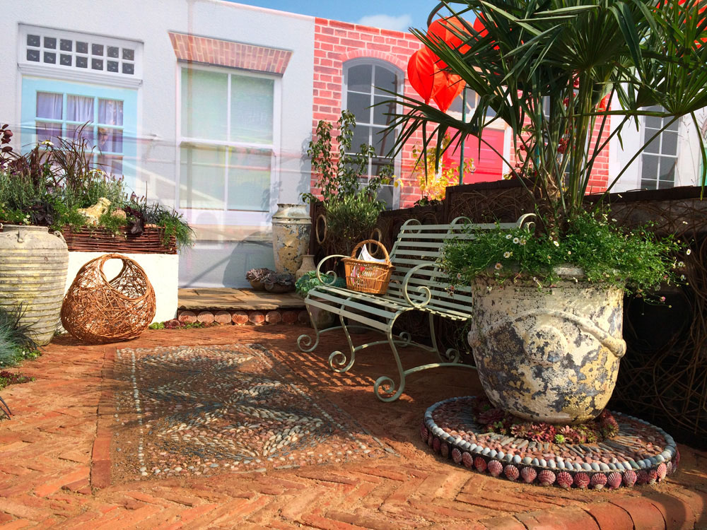 CED Stone Group Join Forces With Olicana Mosaics Helping Create Two Award Winning Gardens at Harroga