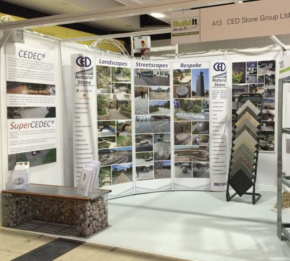 CED Stone Group's Natural Stone Products prove to be a Success at 'Build It Live'