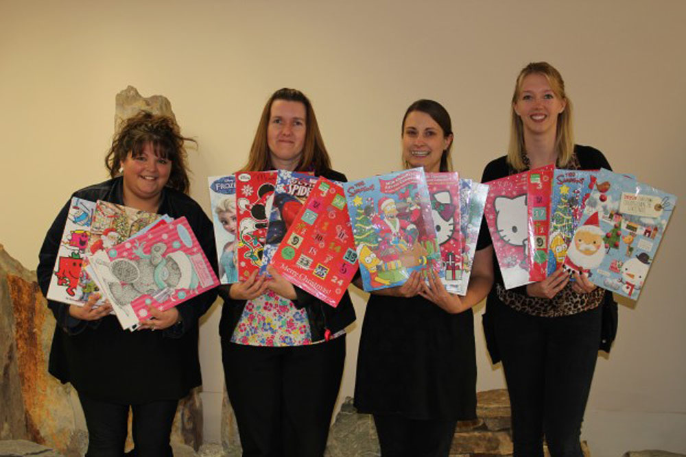 CED Stone Group Donates Advent Calendars to Local Foodbanks