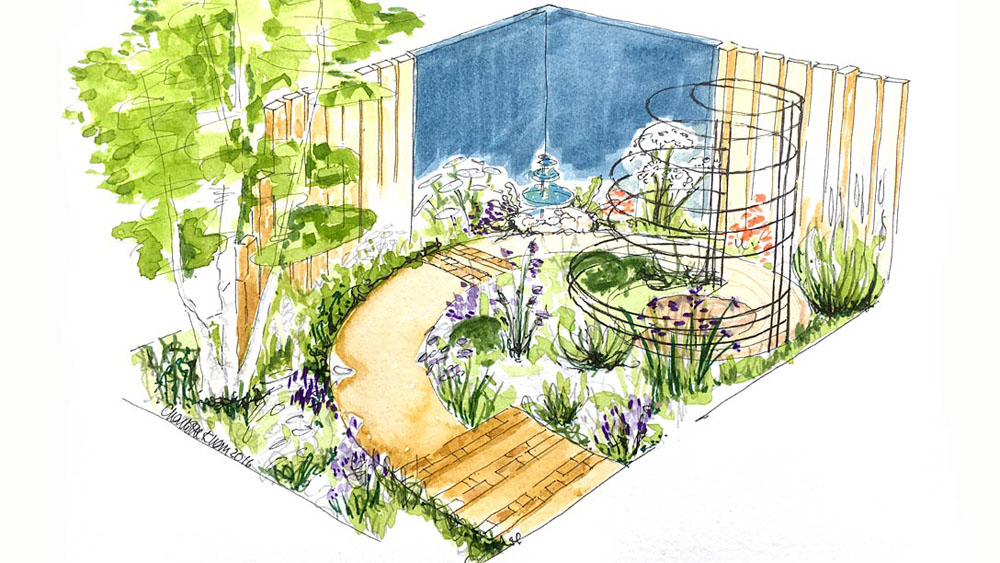 CED Stone Group: Helping to Create an Inner Sanctum at RHS Flower Show Tatton Park