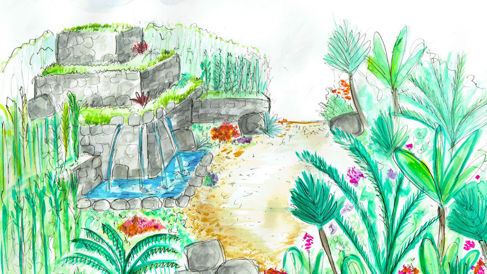 Journey Latin America's Inca Garden Comes to Hampton Court