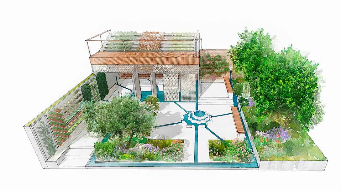 Inspired By Resilience & Resourcefulness: Tom Massey & The Lemon Tree Trust at RHS Chelsea