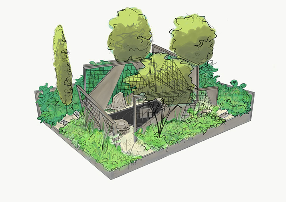 CED Supports 'Mind Trap' at RHS Chelsea Flower Show 2017
