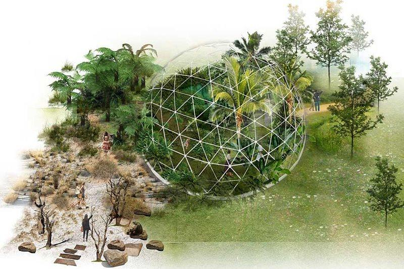 CED Stone Group Sponsor 'Evolve: Through The Roots Of Time' Feature Exhibit at RHS Hampton Court