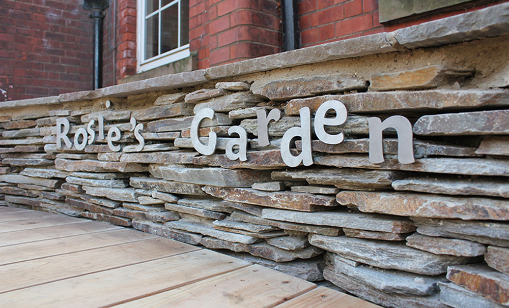 CED Stone Group honoured to supply Paddlestones to 'Rosie's Garden' at West Bridgford Junior School