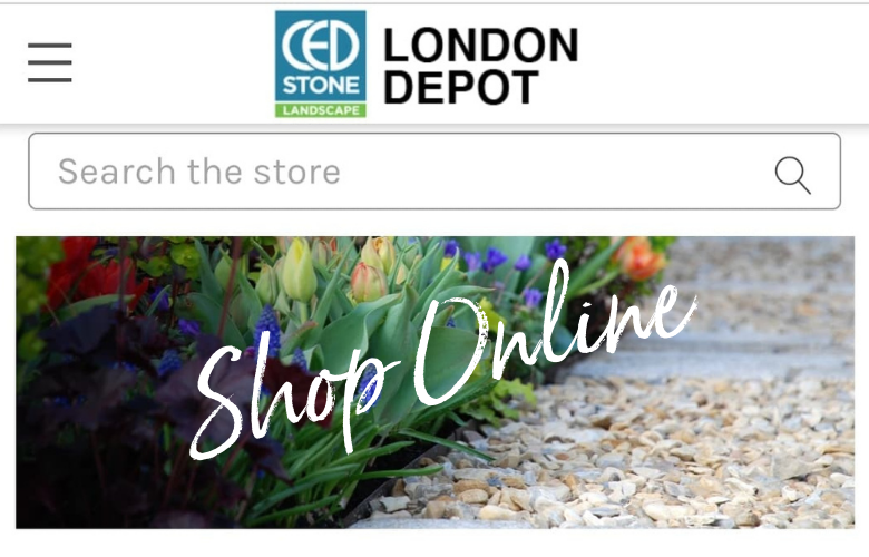 We're Now Just A Stones Throw Away With Online Shopping