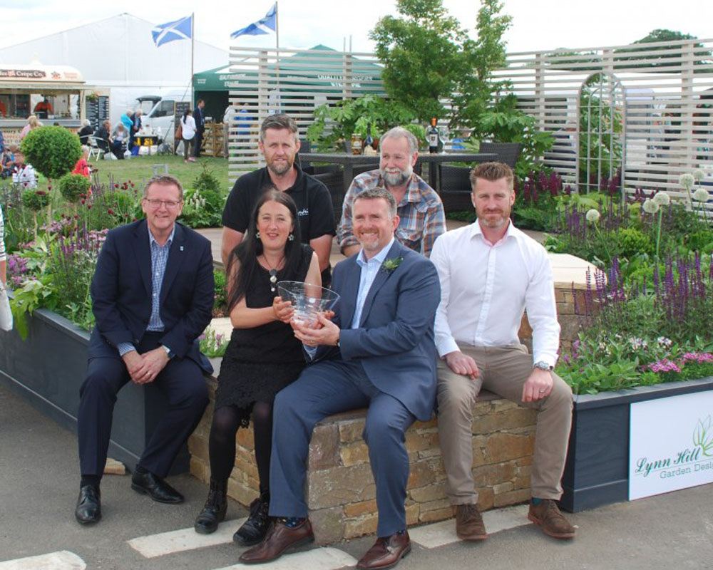 Gardening Scotland's Best New Show Garden Shines On TV: CED Backs Designer Lynn Hill