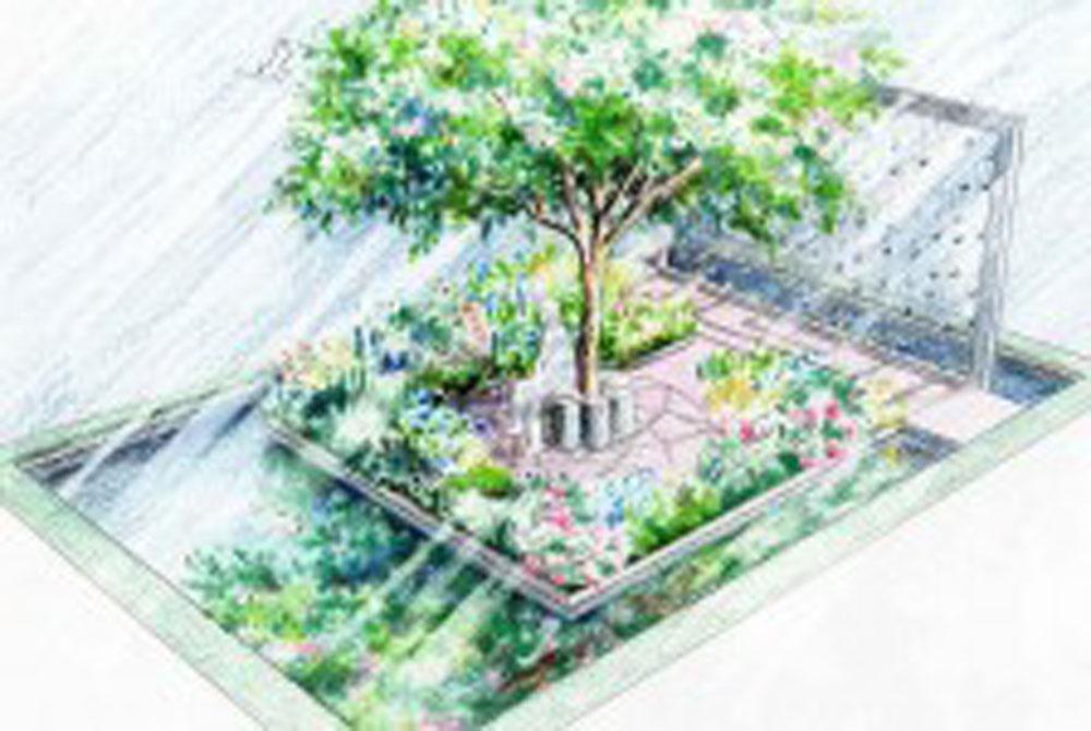 Thinking of Peace garden design