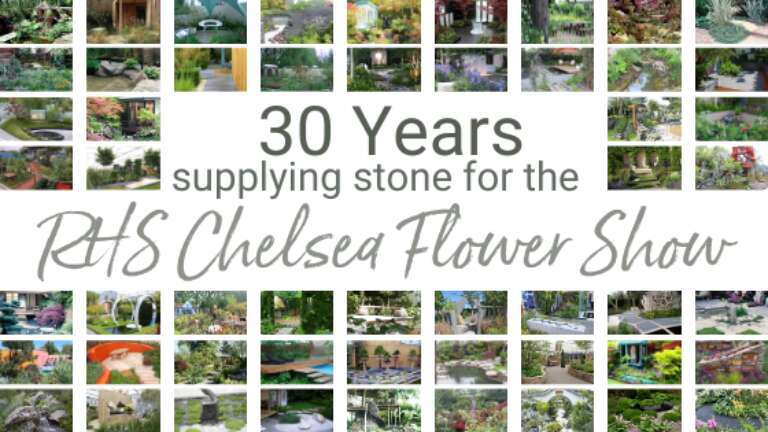 30 Years Supplying Stone To RHS Chelsea Flower Show