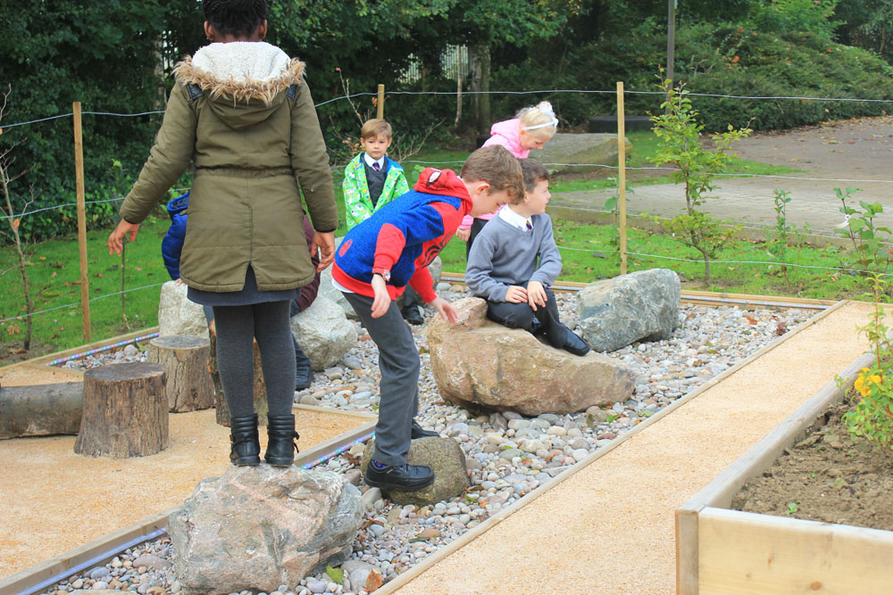 Inspiring Young Designers - CED Stone Group Donate To Sensory School Garden Designed by Local Pupils