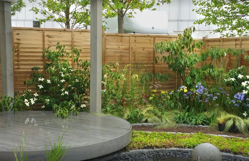 Serenity Comes To BBC Gardener's World Live : CED Supports Designer Andy Tudbury