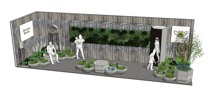 Supporting River Of Flower's 'Honeycomb Meadow Bee Garden' at RHS Chelsea