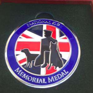 The National K-9 Memorial Medal
