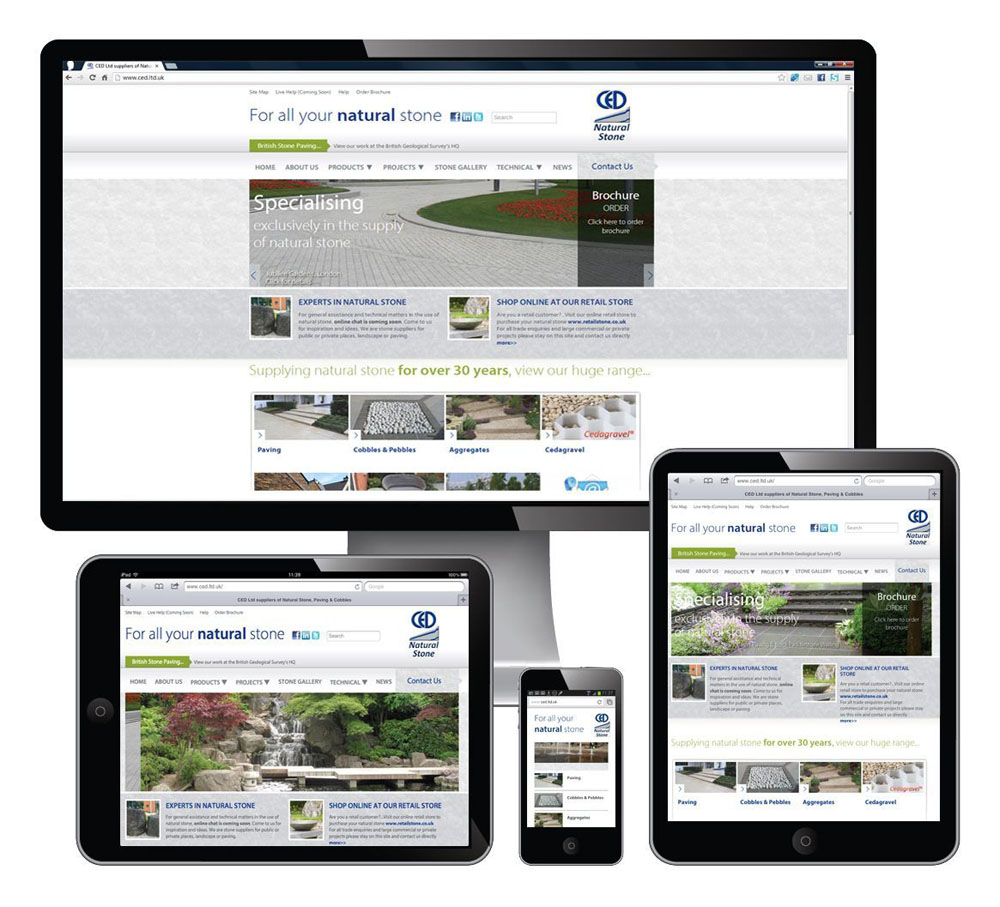 The CED Website Goes Mobile Friendly