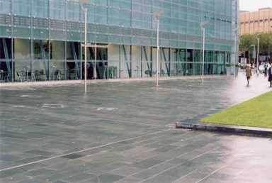 Alta Quartzite Paving at The Urbis Centre' Manchester