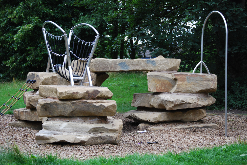 Yorkstone Play Feature at Bradshaw Park