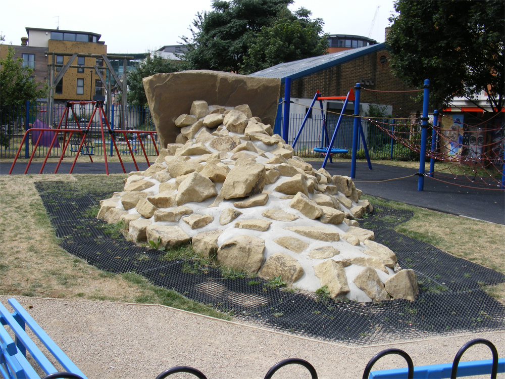 Yorkstone Climbing Boulders at Mint Park