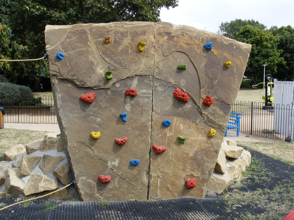 Yorkstone Climbing Wall at Mint Park