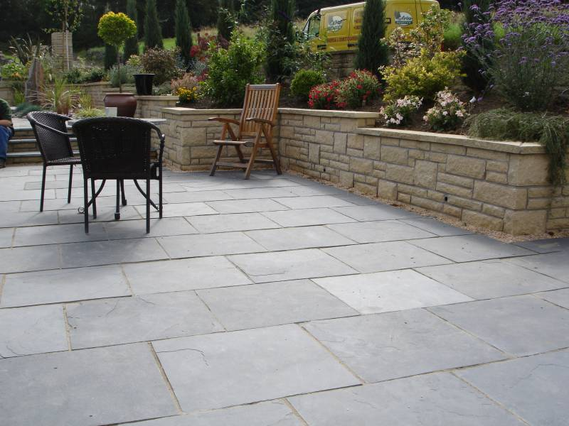 Black Limestone Riven Paving Ced Ltd For All Your