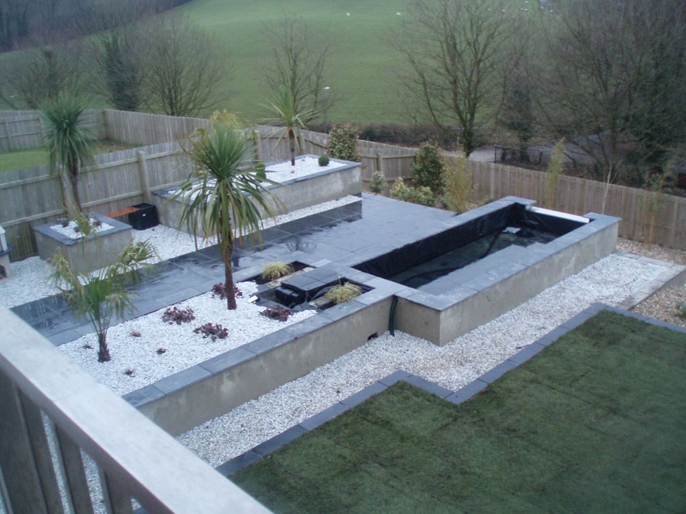 Black limestone riven paving ced ltd for all your for Garden design jobs ireland