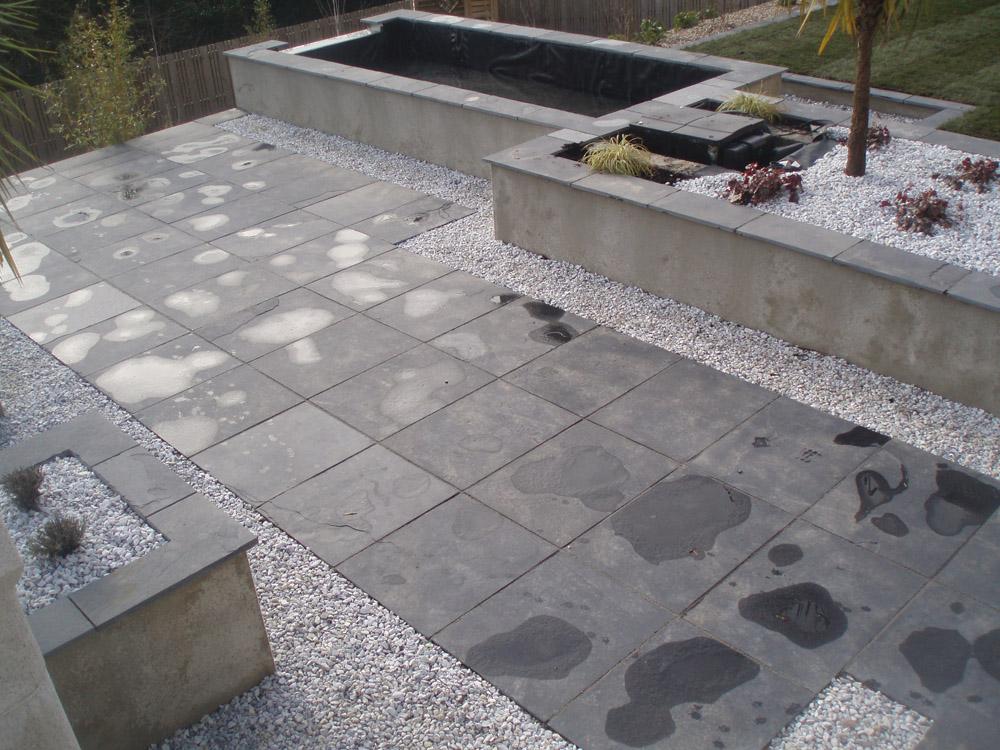 black limestone riven paving ced ltd for all your. Black Bedroom Furniture Sets. Home Design Ideas