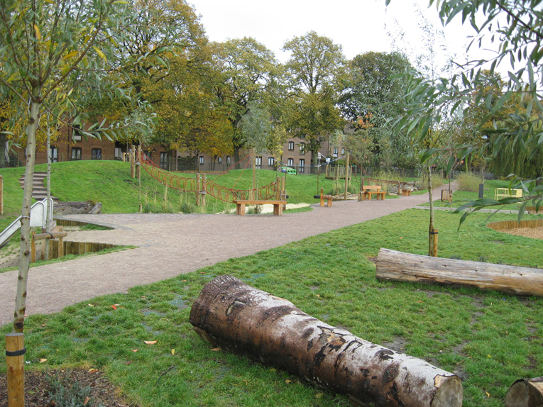 Cedec Red' Duke's Meadows Playground' Chiswick.