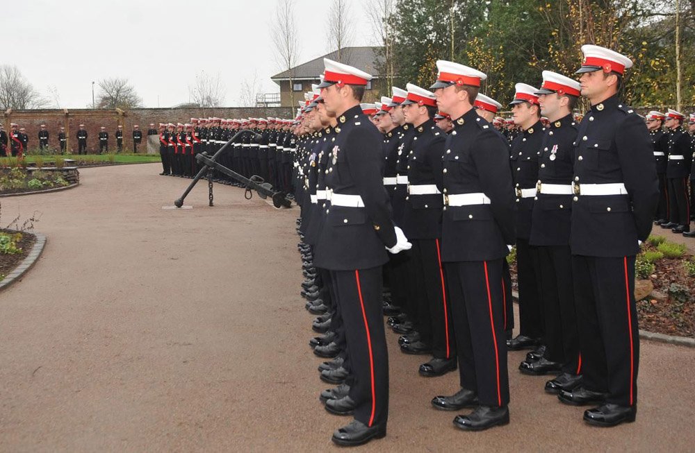 CEDEC Red at The Royal Marines Base at RM Condor' Arbroath.