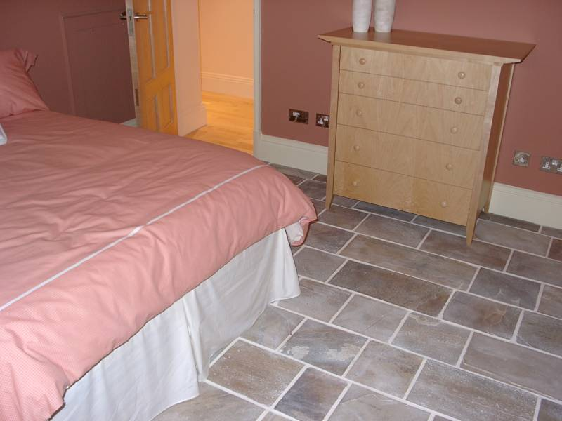 Internal use of Donegal Quartzite Paving' Private House.