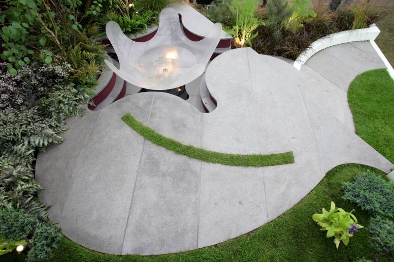 Oppdal Quartzite Paving' Private Garden
