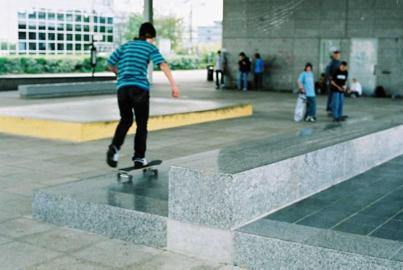 Skate Park' Milton Keynes