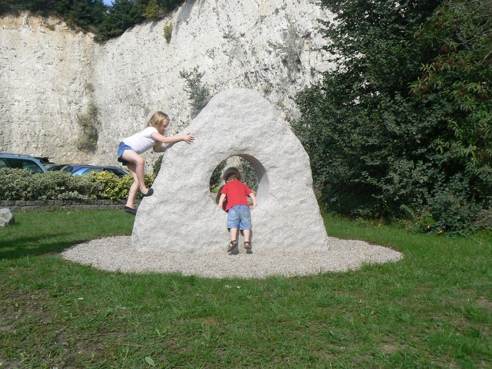 Granite Portal Rock with Gravelsafe.