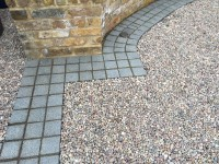 CEDAgravel and Blue Grey Granite Imperial Setts